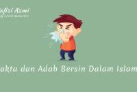 Adab bersin dalam islam