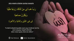Doa minta jodoh untuk wanita