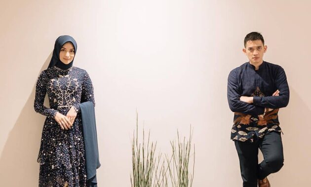 Model baju kondangan dress batik couple